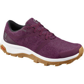 Salomon Outbound GTX Zapatillas Mujer, potent purple/white/gum1a